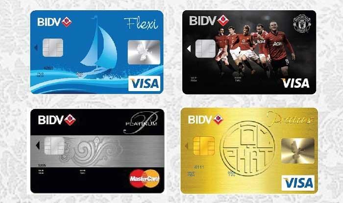 Dịch vụ rút tiền thẻ tín dụng bidv