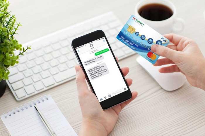 Dịch vụ rút tiền thẻ tín dụng fe credit
