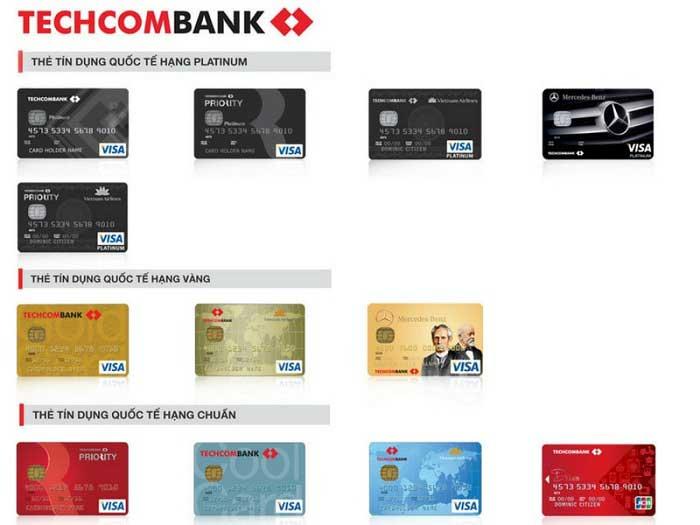 Dịch vụ cà thẻ tín dụng techcombank