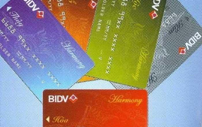 Dịch vụ quẹt thẻ tín dụng bidv